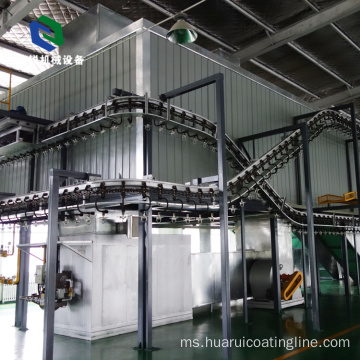Advanced Beltable Hanger Small Conveyor Belt System