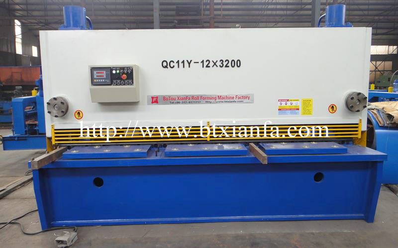 Shear Roll Forming Machine