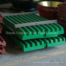 Soem-hoher Mangan-Stahlbrecher zerteilt Backenplatten