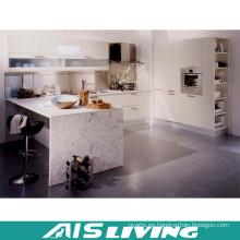 Muebles de gabinetes de cocina en forma de L Muebles de cocina pequeña (AIS-K253)