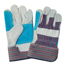 NMSAFETY Newly Cow Split Welding Gloves/cow split welding work gloves leather gloves