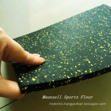 China Manufactured Cheapest Rubber Gym Floor