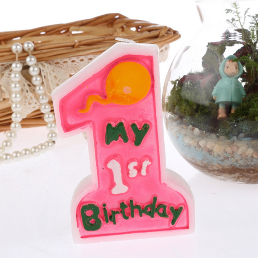 Birthday Number CakeCandle