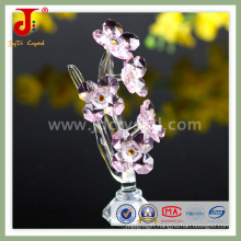 Pink Small Crystal Flower for Sweet Home Decoration (JD-CF-305)
