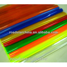 Micro Prismatic reflective PVC sheet