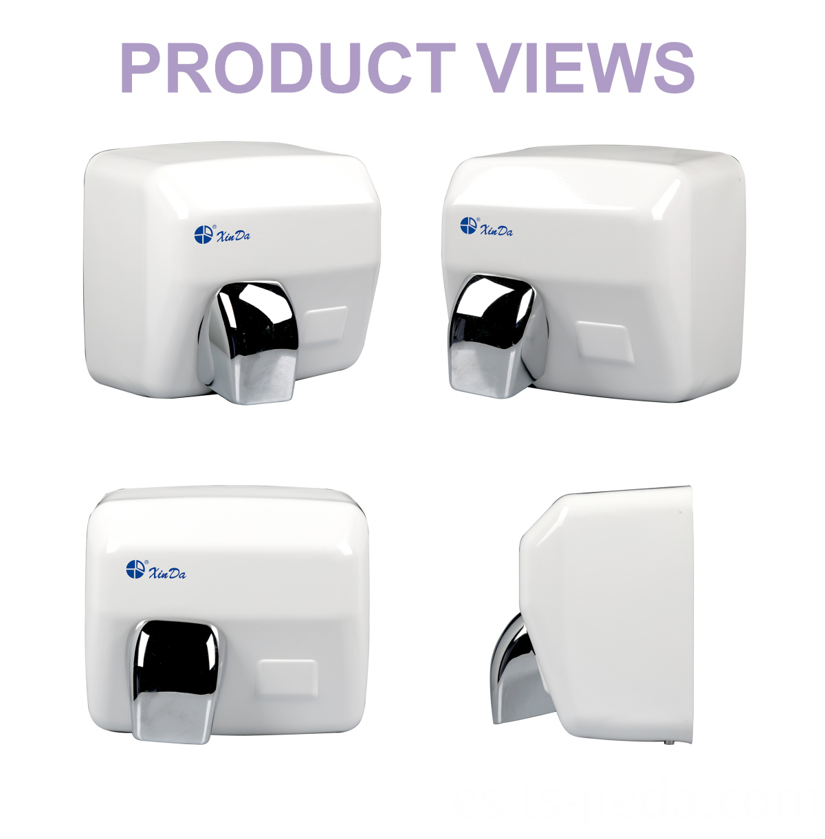 Hand sanitary ware with infrared sensor tool