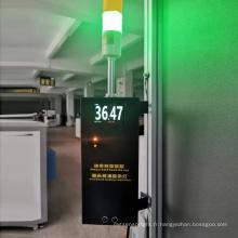 Porte de surveillance de la température pas à pas