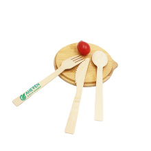 170mm Disposable bamboo spoon with opp packing