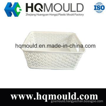 Plastic Basket Injection Tool Commodity Basket Mould