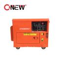 6.5 Kw 6.5kw Soundproof Super Silent Diesel Petrol Generator Price List