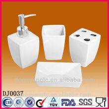 white ceramic bathroom set,bathroom accessory set,bathroom sanitary set