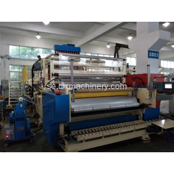 LLDPE Co-Extrusion Plastic Cast Film Machine