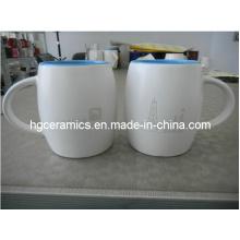 Taza de cerámica grabada láser