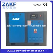 0.7 ~ 1.3bar pressure 50hp screw air compressor with ZAKF