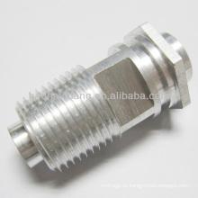 Tuerca de perno hexagonal de aluminio del hilo de 1 / 4-18 NPTF para el tubo de calefacción