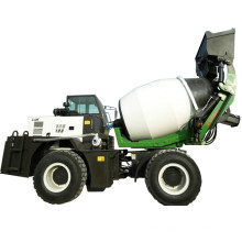 1.2 cubic meters Automatic feeding small concrete mixer truck