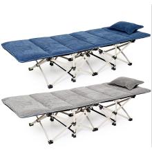 Baixo preço acampamento leve de metal dobrável cama extra para quadro de cama sala do exército para o quarto