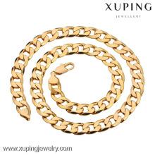 40879 Xuping Позолоченные Цепи Ювелирных Изделий, Мода Ожерелье Для Мужчин