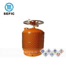 lpg gas cylinder prices with ASME/GB/EN/DOT 9kg/12kg/12.5kg/15kg cooking