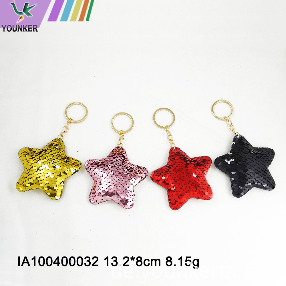 Sequined Key Chain