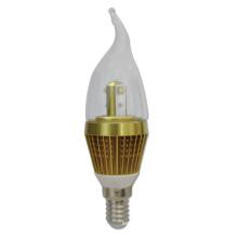 2 años de garantía AC100-240V LED Vela ligera