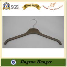 2015 New Popular Shirt Hanger Fashion Laminated Hanger in Plastic
