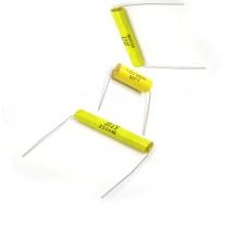 Topmay 1, 000 a 3, 000V CC amarillo tipo Axial condensador de película de poliéster metalizado