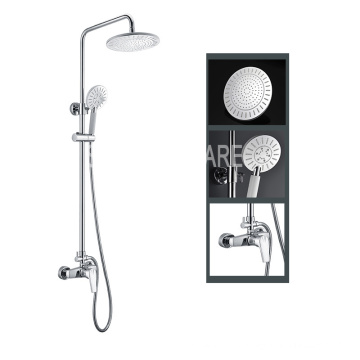 Multi-Function High Quality Rain Shower Brass Chrome Shower Set