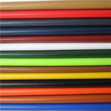 Súper cuero sintético PU para tapicería de muebles e interiores automotrices
