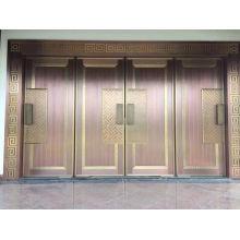 Porte de cuivre luxueuse peu coûteuse