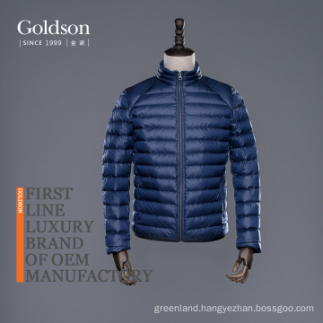 Men's Goose Down Winter Jacket With Italian/Canada Brand With YKK Zippers