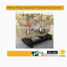 Desarrollado por Cummins 140kw / 175kva generadores diesel marinos