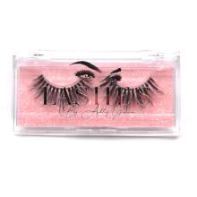B141 Hitomi private label eyelashes box false eyelash packaging luxury Acrylic Custom cosmetic Eyelash Packaging