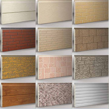 Exterior insulation decoration wall cladding