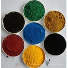 Pigmento de óxido de hierro sintético