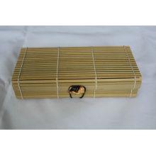 Regalos caja de bambú natural exportados a Japón y Francia