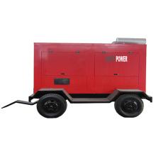 Generador diesel insonoro móvil movible del remolque 17kw