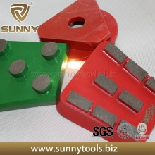 Placas de moedura do assoalho do diamante de Sunny Brand (SYYH-077)