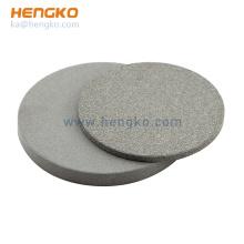 HENGKO Hight Quality 316L stainless steel Sintered Porous Metal Filter Disc