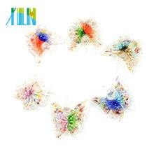 MC0053 Lampwork Art Inner Flower Handmade Glass Butterfly pendants 12pcs/box