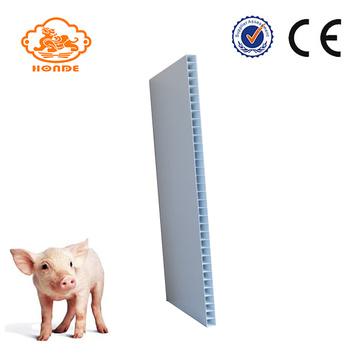 Hard Hollow Pig Farm utilizó el panel de PVC