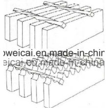 Plain or Serrated Galvanized Steel Grating, Stair Treads, Bar Grating (Manufacture in Anping)