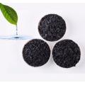 Polvo de pellets granulados a base de madera de grado alimenticio activado