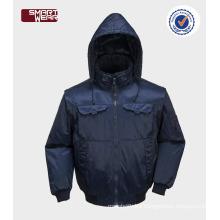 Customized mens OEM winter bomber jacket safety workwear jacket