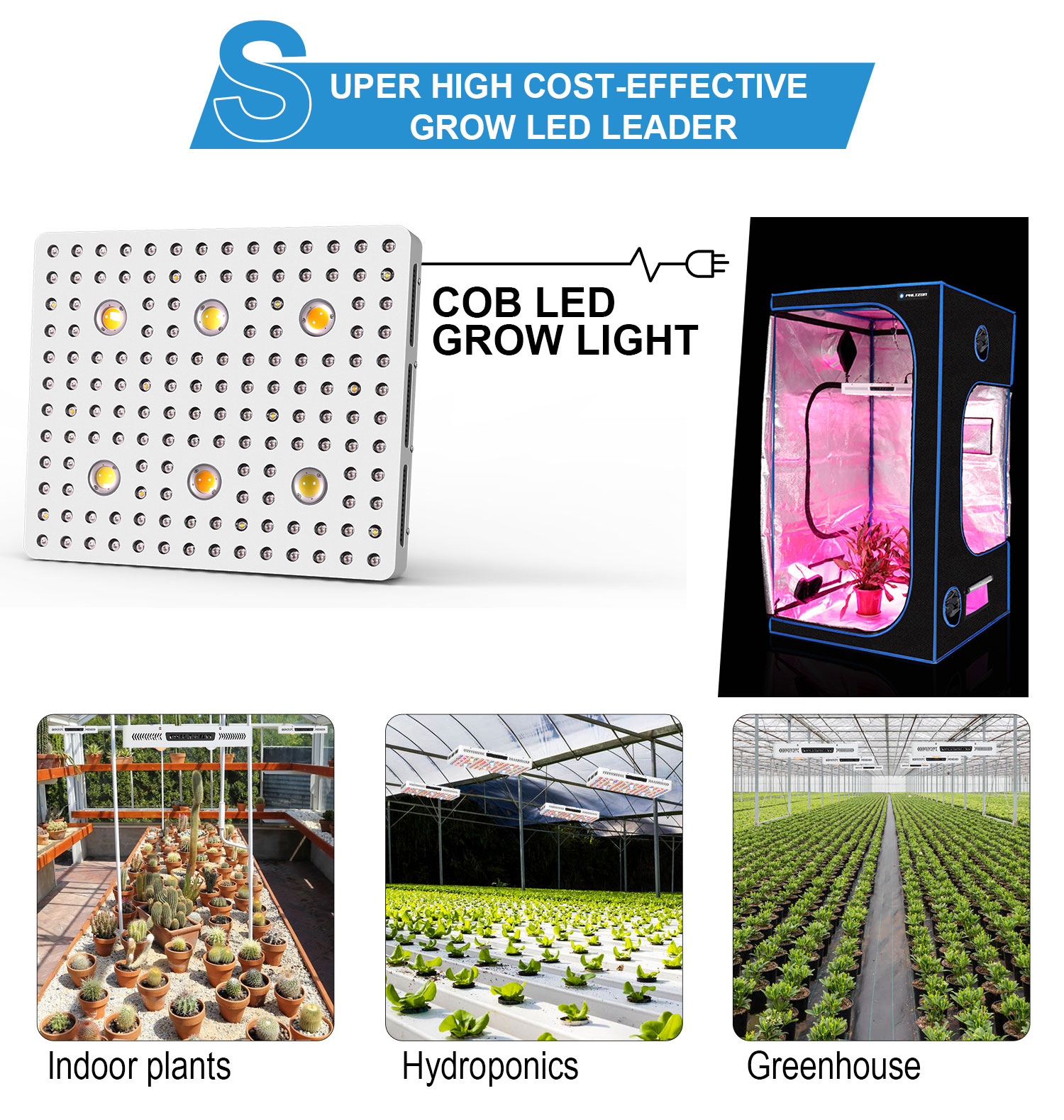 600w Led Indoor Grow Lights