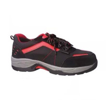 China Factory Standard Professional PU/Leather Safety Working Industrial Shoes