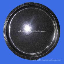 carbon steel non stick round pizza pan