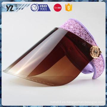 Nueva llegada todas las clases de nuevo sombrero del visera del diseño con la buena oferta