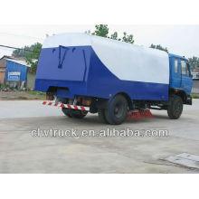 DongFeng 4x2 camión diesel barredora de camino