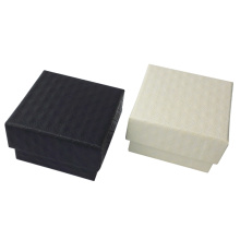 Personalized souvenir favor embossed paper jewelry box